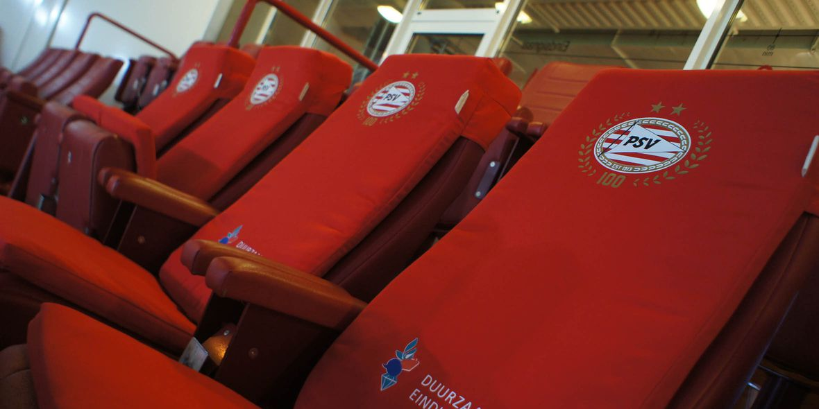 philips stadion erstes fu ballstadion mit sit heat. Black Bedroom Furniture Sets. Home Design Ideas